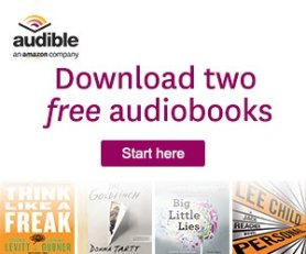 Audible for Amazon is a great way to read the books you've been wanting to even when you're too busy to curl up with a book.
