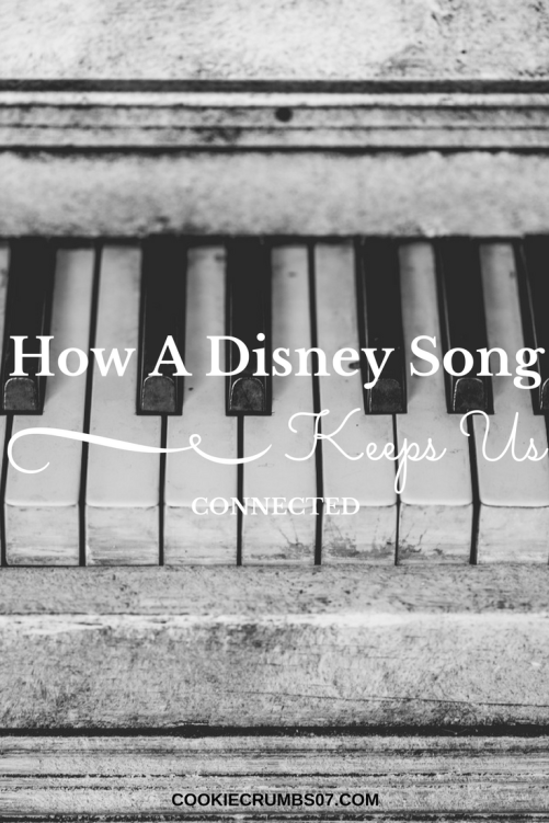 A simple Disney song helps us stop and connect in our marriage, despite what might be going on around us. On the blog I'm telling you how.