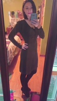 Sweater Dresses are so versatile. Dress them up for work or an evening out, or throw on some sneakers and a scarf for a casual look.