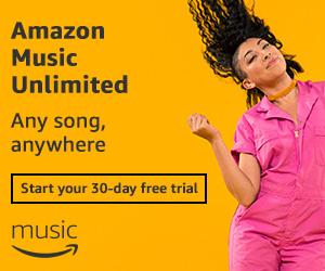 Prime Music gives you unlimited music, any song, anywhere.  Try it free for 30 days!