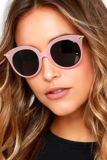 These Oh Baby Light Pink Sunglasses are the perfect pop of color to your wardrobe. Get them now!