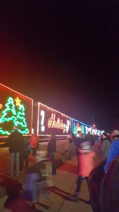 The Canadian Pacific Holiday Train rolled into town. Read all about it on the blog!