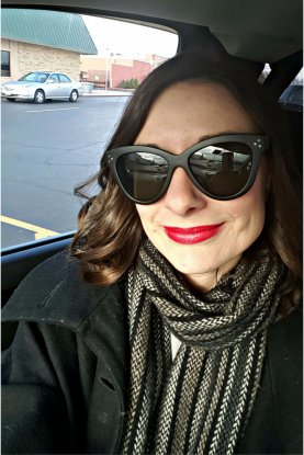 My newest fashion accessory love are these black sunglasses from Lulus.