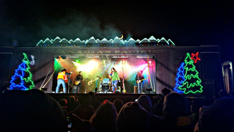 The Canadian Pacific Holiday Train rolled into town and put on a great mini concert. Read about that and the rest of our weekend on the blog!