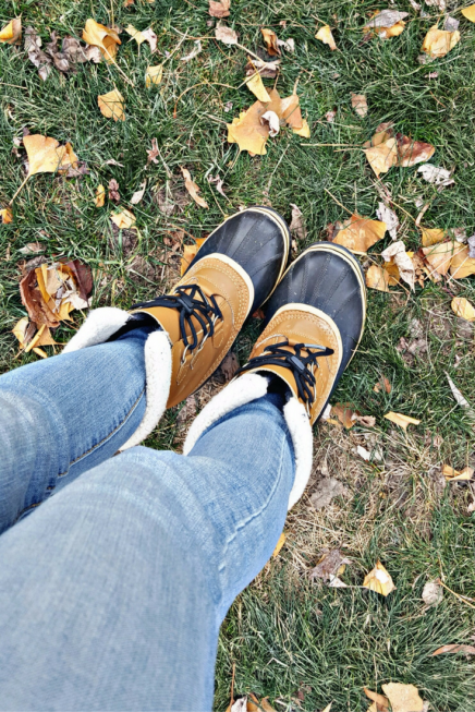 My Women's Sorel Winter Boots keep my feet warm and dry, no matter the conditions!