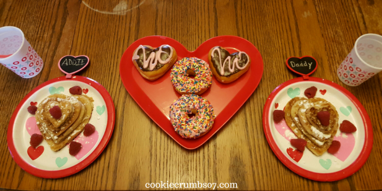 My husband and daughter share a special tradition each Valentine's Day so this past weekend they celebrated Valentine's Day together in a special way.