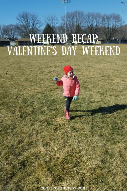 This past weekend we got to enjoy some much needed sunshine and fresh air. Read the full post to find out how we celebrated the Valentine's Day Weekend as well!