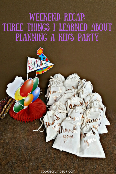 Read these three tips before you plan you kid's next birthday party!