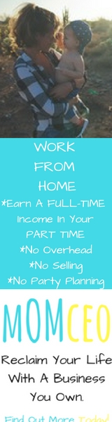 At MomCEO we give moms a way to work from home and earn a full-time income in their part time.  Learn More Today!